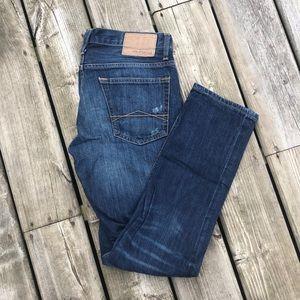 Aeropostale Distressed Rivington Skinny Jeans 30